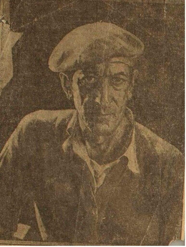 Maurice Del Mue (1875-1955) Self Portrait